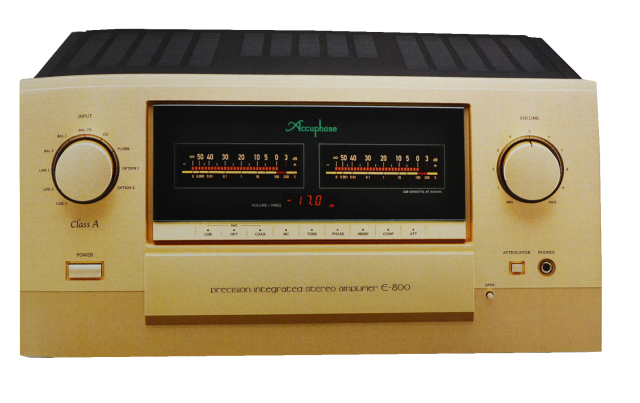 Accuphase(アキュフェーズ) E-800 純A級プレシジョン・インテグレーテッド・ステレオアンプ
