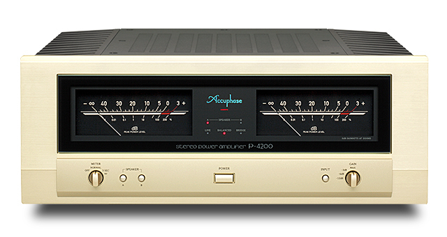 Accuphase(アキュフェーズ) P-4200 ステレオパワーアンプ