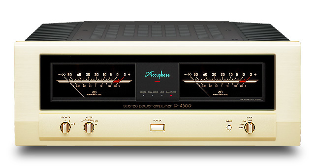 Accuphase(アキュフェーズ) P-4500 ステレオパワーアンプ