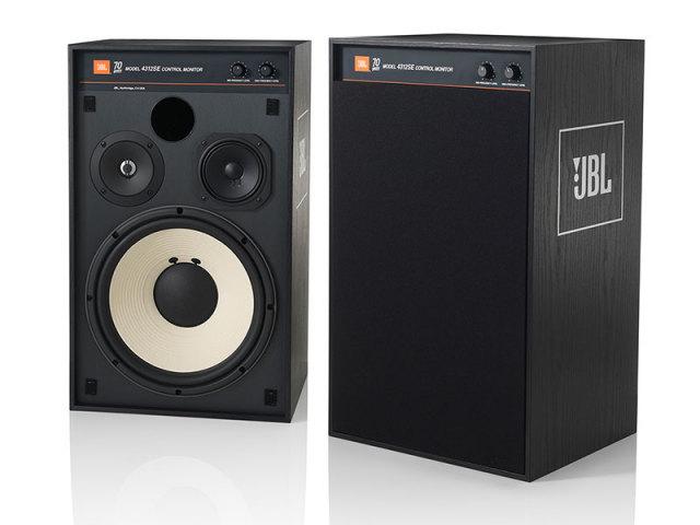 JBL 創立70周年記念スペシャルエディション  4312SE 30cm 3ウェイ コントロールモニター(ペア)
