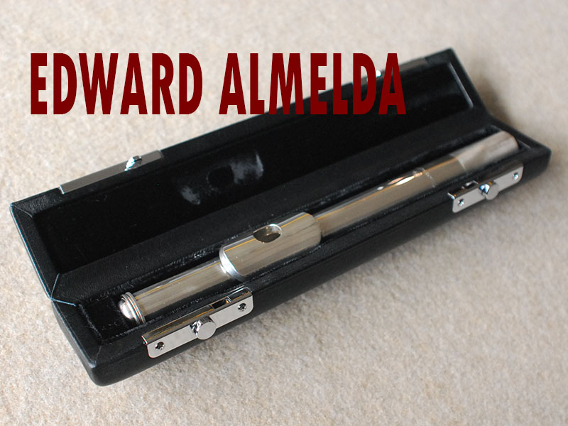 EDWARD ALMEIDA Head Joint 銀製頭部管