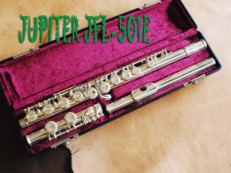 JUPITER JFL-501E 銀メッキ リップ銀製 FLUTE フルート