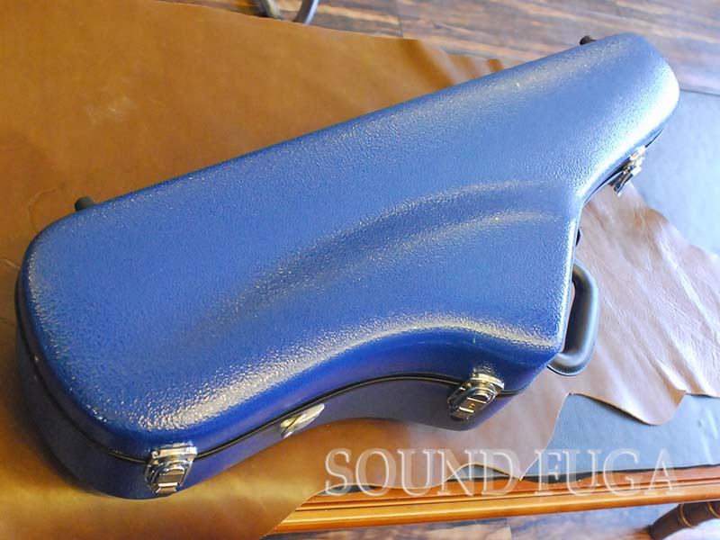TENOR CASE BLUE テナーケース Butterfly Key 対応