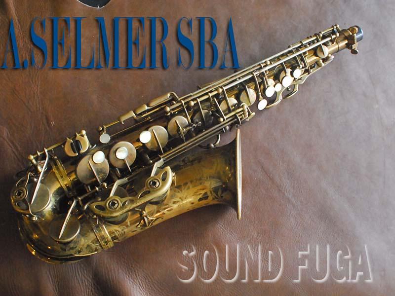 A.SELMER SBA 44千番台 オリジナルラッカー アルトサックス