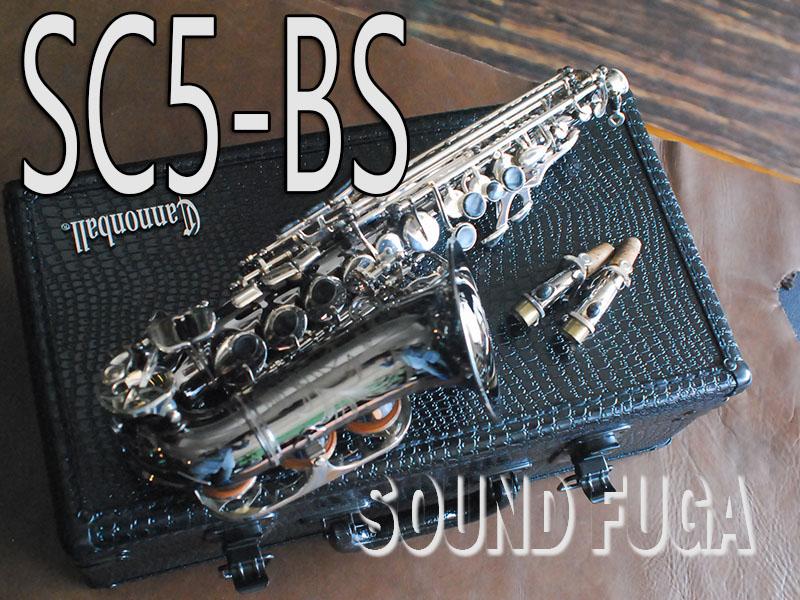 CANNONBALL SC5-BS カーブド ソプラノサックス 極上