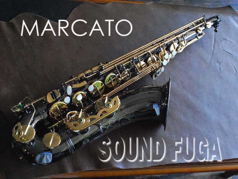 MARCATO SOPHIA ブラック テナーサックス 良品