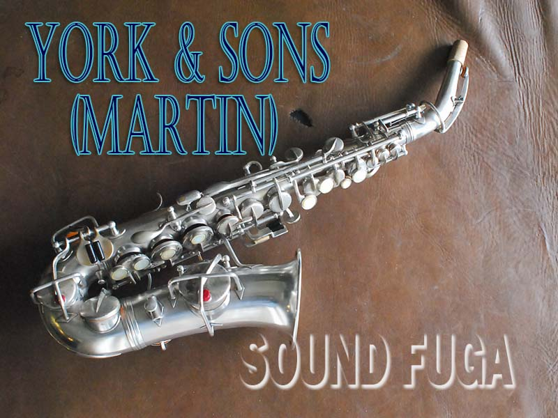 JW YORK AND SONS(Martin) SP 43千番台 カーブドソプラノ