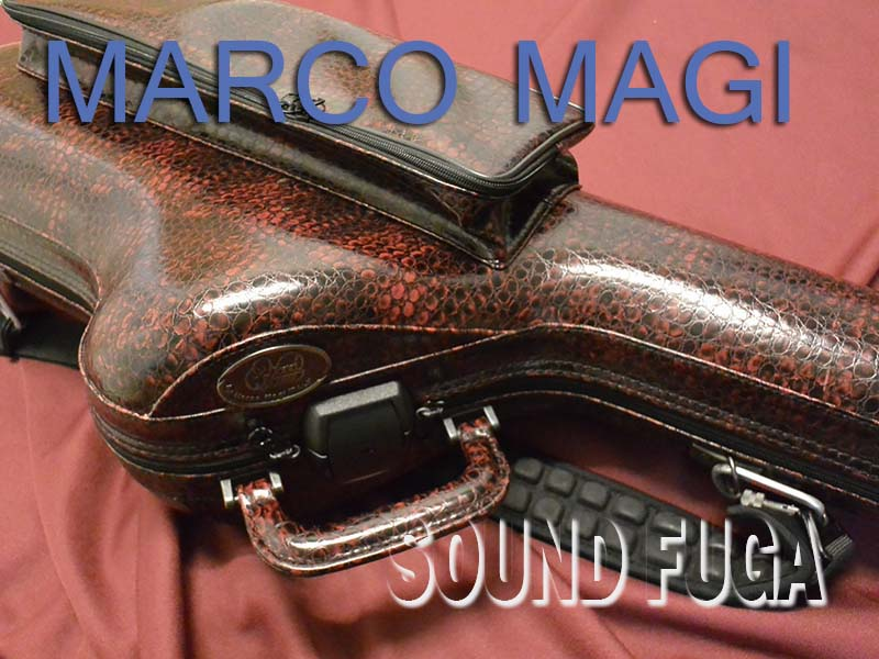 WOODSTONE -MARCO MAGI Tenor Case テナーケース