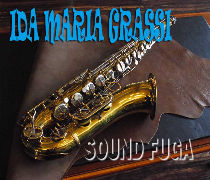 ★Weekly Sale★ IDA MARIA GRASSI テナーサックス イタリア製 良品