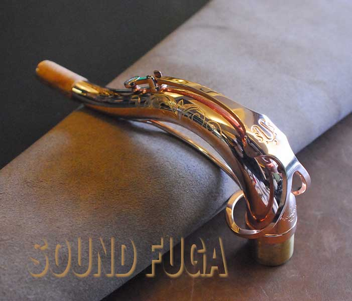 YANAGISAWA TW-3 SOLID SILVER PGP TENOR NECK PGPテナー用 ネック