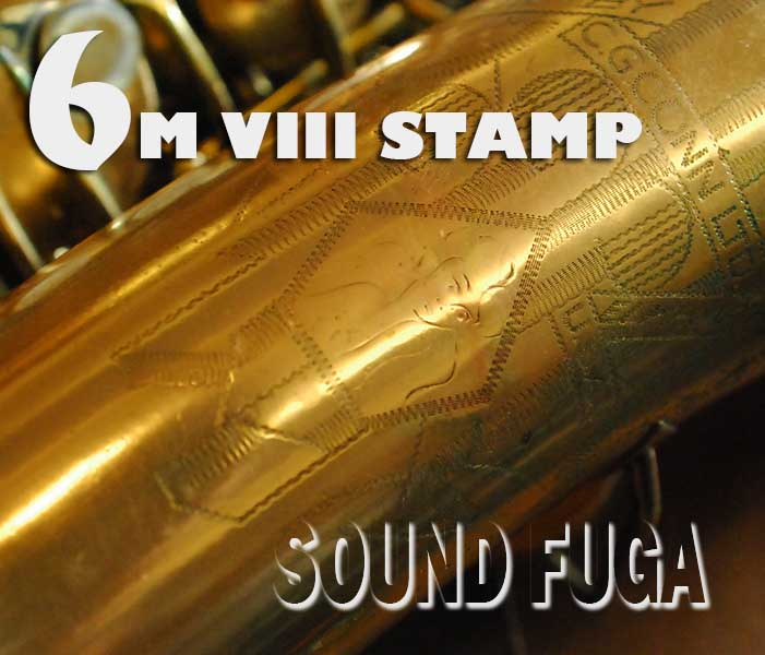C.G.CONN 6M VIIIスタンプ Naked lady リラッカー 30万番台
