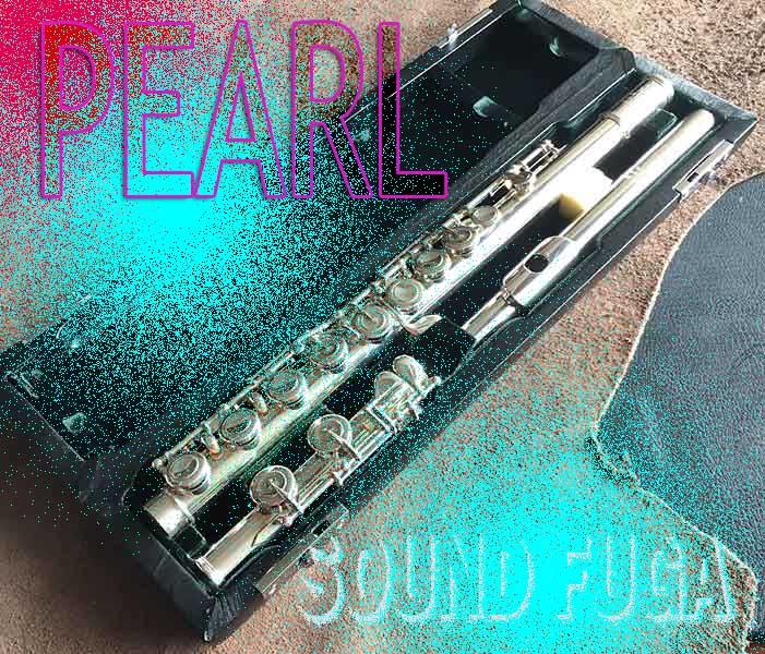 ★☆Spring Sale☆★PEARL F-9701E マエスタ ハンドメイド ソルダード 総銀フルート 美品