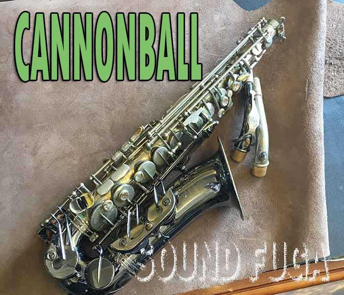"Cannonball GA5-SB ""Gerald Albright Model"" アルトサックス"