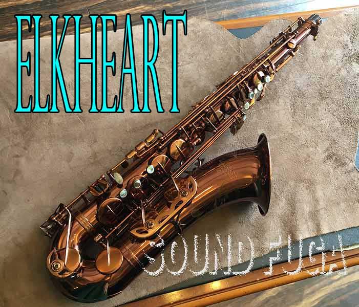 ELKHEART E6-DL HighF#キー無しテナーサックス 美品