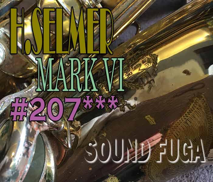 H.SELMER MARK VI 20万番台 SP ENCK オリジナルラッカー アルト
