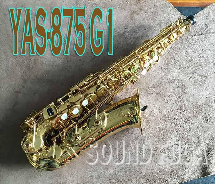 YAMAHA YAS-875 G1NECK カスタムモデル アルトサックス 良品