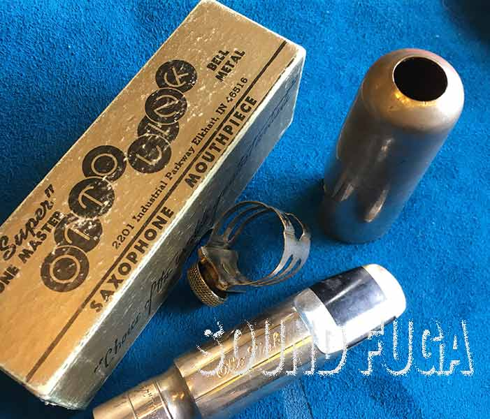 OTTOLINK TS METAL FLORIDA #8★ USA T.O約0.120/3mm テナーマウスピース