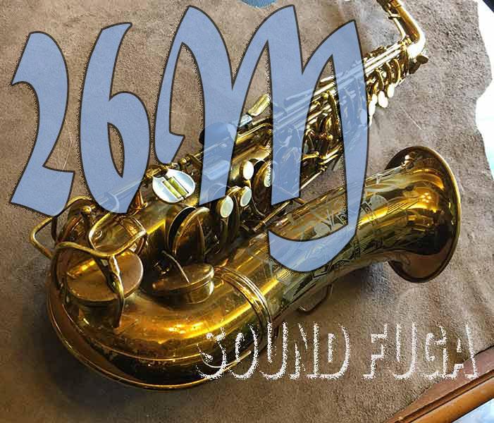 C.G.CONN 26M 27万番台 オリジナルラッカー アルトサックス