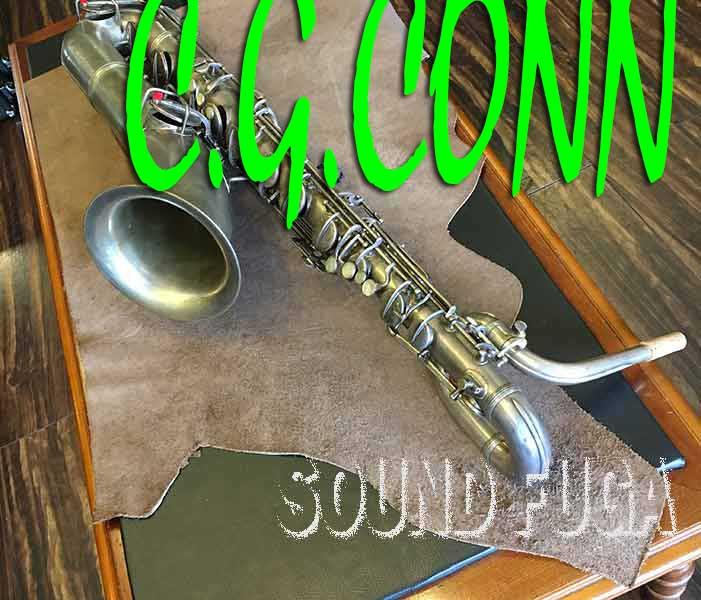 C.G.CONN New Wonder SP 銀メッキ Low-Aなし バリトンサックス