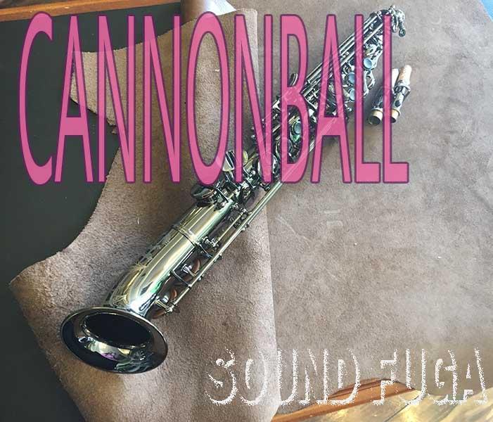 CANNONBALL SA5-B 希少 セミカーブド ソプラノサックス 美品