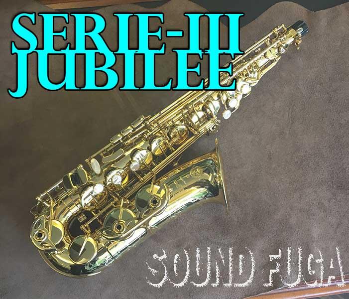 H.SELMER SERIE-III JUBILEE アルトサックス 2019年新品購入 美品