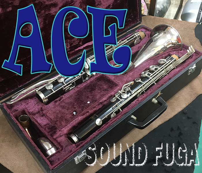 ACE Low E♭ バスクラリネット 委託品