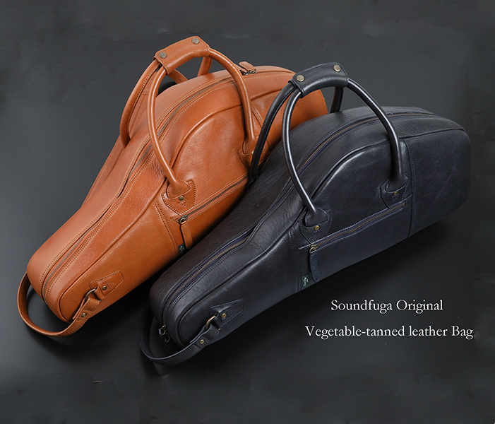 SOUNDFUGA オリジナル Vegetable Tanned Leather ALTO  CASE アルト本革フライトケース