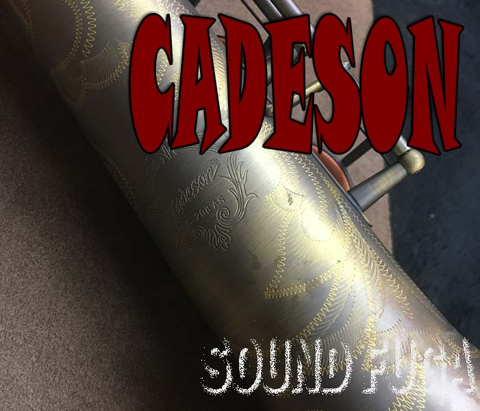 CADESON  S-208AS SOPRANO  ソプラノサックス 選定 美品