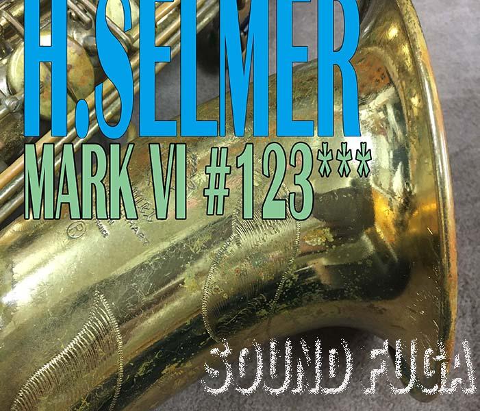 ★Spring Sale★ H.SELMER MarkVI 12万番台 彫刻付 オリジナルラッカー テナーサックス