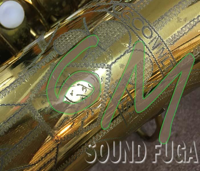 C.G.CONN 6M Naked lady 32万番台 ロールドトーンホール アルトサックス