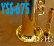 YAMAHA YSS-675 ソプラノサックス M1ネック 良品