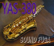 YAMAHA YAS-380 ALTO アルトサックス 3WAY CASE 美品