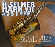 H.SELMER MarkVII 25万番台 彫刻付 初期マーク7 アルトサックス