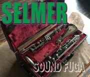 ★新春セール★H.SELMER  Bass Clarinet グラナディラ材 Low Eb バスクラリネット