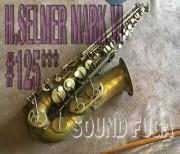 H.SELMER MARK VI 12万番台 オリジナルラッカー アルトサックス 委託品
