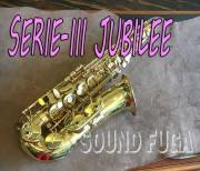H.SELMER SERIE-III  ジュビリー JUBILEE アルトサックス 選定品