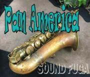 PAN AMERICAN  オリジナルラッカー テナーサックス