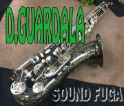 D.GUARDALA NewYork BN ブラックニッケル テナーサックス 美品