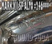 H.SELMER MarkVII マーク7 銀メッキ 初期24万番 アルトサックス 美品