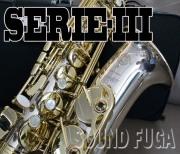 H.SELMER SERIE-III Sterling Silver  ALTO アルトサックス 委託品