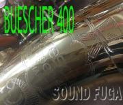 BUESCHER 400 TOP HAT & CANE ALTO アルトサックス