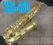YAMAHA YAS-480 ALTO アルトサックス 3WAYケース 美品