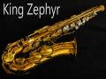 KING ZEPHYR アルトサックス 24万番 パールオクターブキー、サムレスト