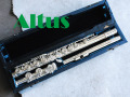 ALTUS A-1007E 管体銀製 Eメカ付 フルート 美品