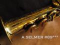 A.SELMER MARK VI 89千番台 オリジナルラッカー 超希少 ソプラノサックス