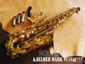 A.SELMER MARK VI 145千番台 オリジナルラッカーアルトサックス ヴィンテージDukoff・Soloist C★ セット