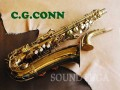 C.G.CONN LADY TRASITIONAL ALTO アルトサックス NY NECK