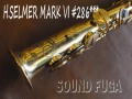 H SELMER Mark6  彫刻付 28万番台 ソプラノサックス