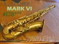 A.SELMER MARK VI 12万番台 オリジナルラッカー テナーサックス 委託品