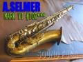 A.SELMER MARK VI 10万4千番 オリジナルラッカー90% テナーサックス